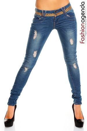 Jeans Albastri Kraft