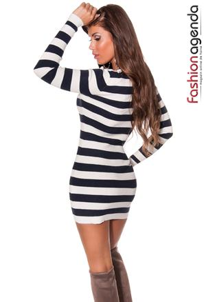 Pulover Stripes Navy