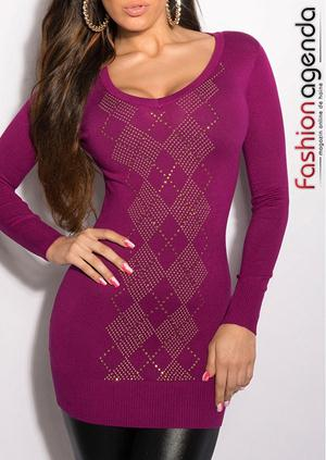 Pulover Domino Purple