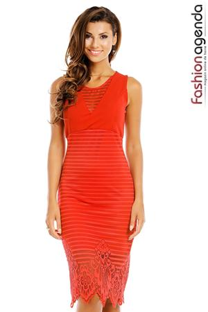 Rochie Innovating Coral