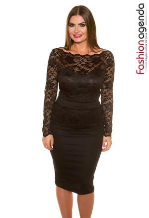 Rochie XXL Pearl 01 Black