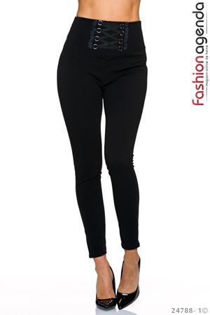 Pantaloni cu Talie Inalta Maximo 06