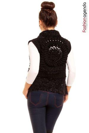 Vesta Tricotata Starlet Neagra