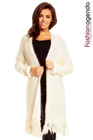 fashionagenda.ro Cardigan Favourite Crem 05