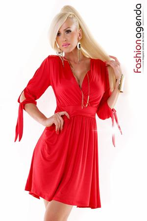 Rochie Smile Red