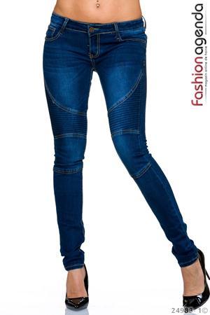 Jeans Claus Albastri