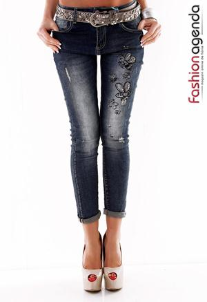 Jeans Busy Bee Albastri