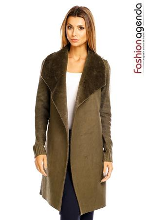 Cardigan Kenneth Olive