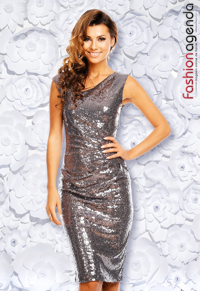 Rochie Endless Night Silver