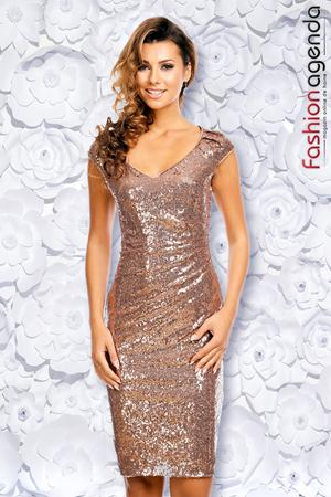 Rochie Private Party Bronz
