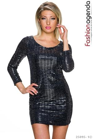 Rochie After Glow Silver