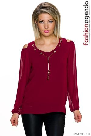 Bluza Ethelyn Bordo
