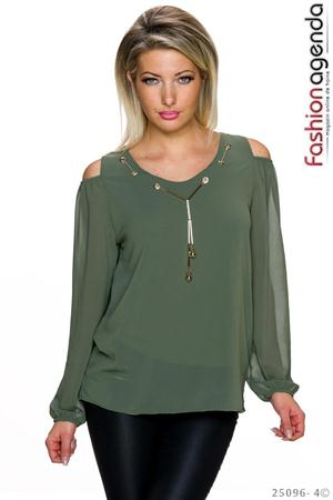 Bluza Ethelyn Olive