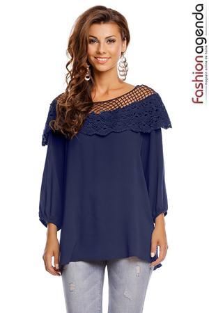 Bluza Aysa Bleumarin