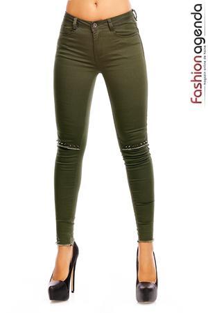 Pantaloni Kannon Olive