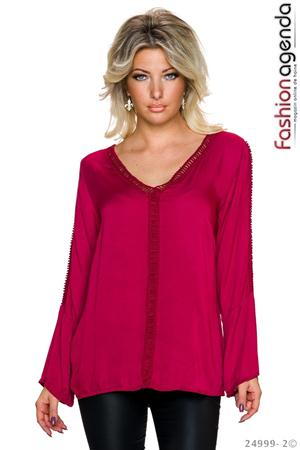 Bluza Tracy Bordo