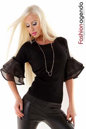 Bluza Sandy Neagra