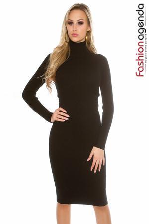 Rochie Midi Affection Neagra