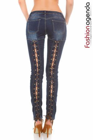 Jeans Flyn Albastri