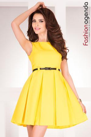 Rochie Gorgeous Galbena