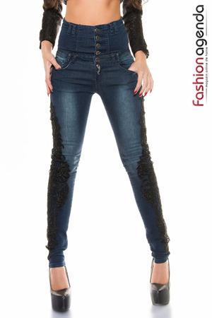 Jeans cu Talie Inalta Reyes