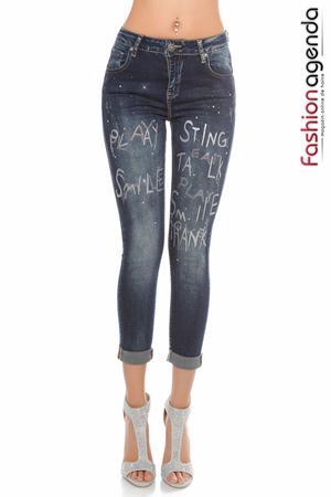 Jeans Play Albastri