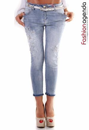 Jeans Valentine Albastri