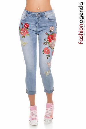 Jeans Avenge Albastri
