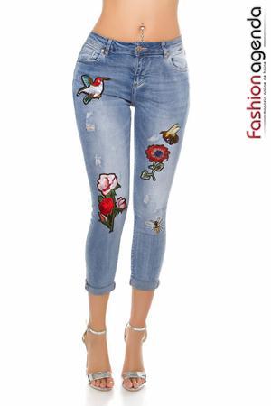 Jeans Garden Albastri