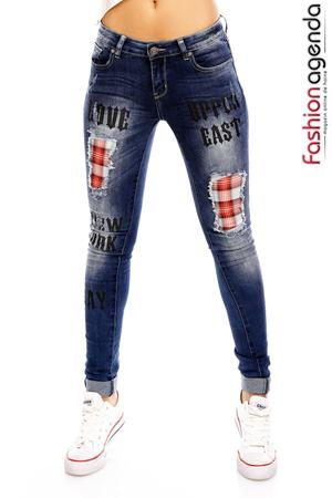 Jeans West Albastri
