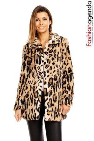 Jacheta de Blana Leopard