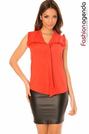 Top Harsha Orange