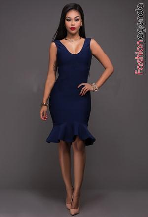 Rochie Another Way Bleumarin