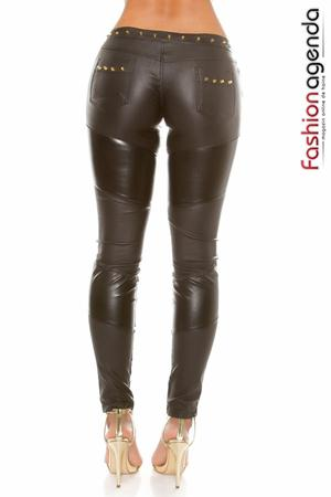 Pantaloni cu Tinte Black Flash