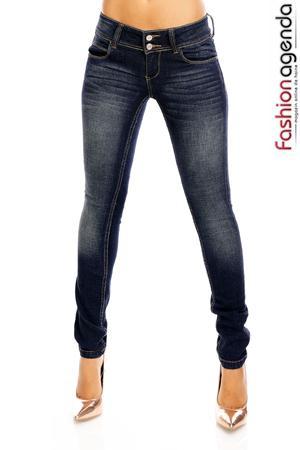 Jeans Nobu Bleumarin