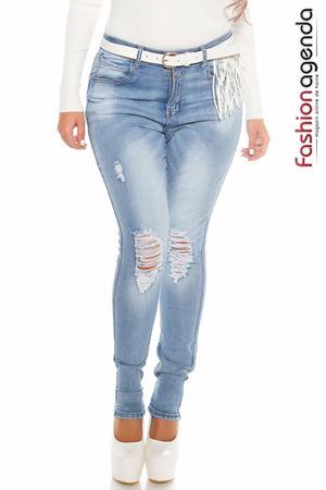 Jeans XXL Cyro Albastri